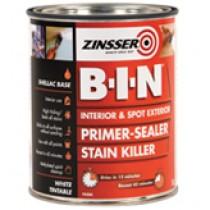 Zinsser B I N Primer Sealer 2.5L Tin