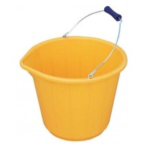 Yellow Industrial Bucket 14.5L