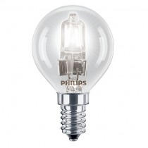 Philips Eco30 42W SES Golf Ball Bulb