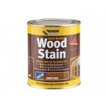 Woodstain Satin Dark Oak 750ml