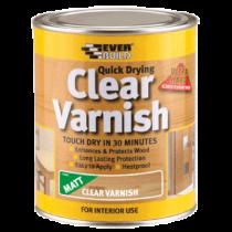 Clear Varnish Matt 750ml