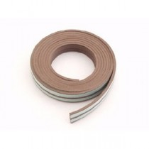 "Self Adhesive ""E"" Profile Weather Strip Brown"