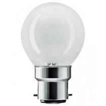 Golf Ball Lamp 40W Energy Saver BC Opaque