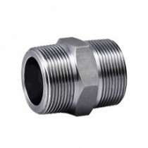 Galvanised  Hex Nipple 1/2""