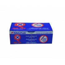 Rawlplug Chipboard Screw 4x60mm Yelllow (200)