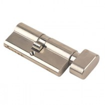 Key & Turn Cylinder 35/35 Nickel