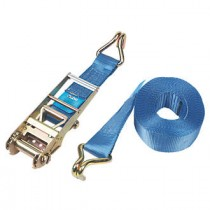 Lashing Strap 8mx50mm 4000kg with Ratchet and Hooks