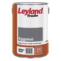 Leyland Eggshell Brilliant White 5L