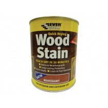 Woodstain Satin Mahogany 750ml