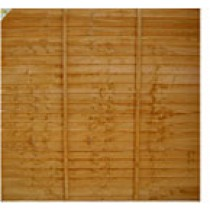 Fence Panel 1800 x 1800mm Treated (Brown)