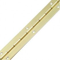 "Piano Hinge Electro Brass 1"" (Pack of 20)"