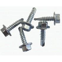 Olympic 4.8x16mm Plain Self Drilling Screws  (Pk 200) Steel to Steel