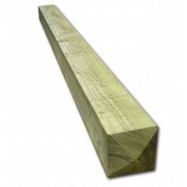 100 x 75mm 2.4 Post Treated (Green) Pointed