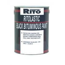 Black Bitumen Paint 5L