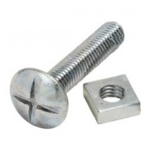 M6x100 Roofing Bolt & Nut