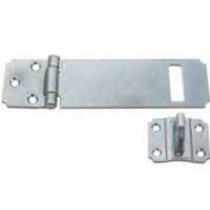 Hasp & Staple 115mm Black