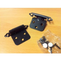Snap Hinge Black (pair)