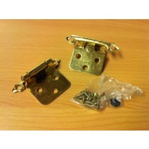Snap Hinge Brass (pair)