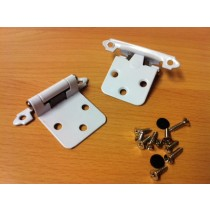 Snap Hinge White (pair)