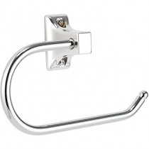 Croydex Sutton Open Toilet Roll Holder Chrome