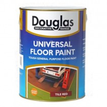 Universal Floor Paint Red 5L