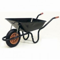 Wheelbarrow 85 Litres Black