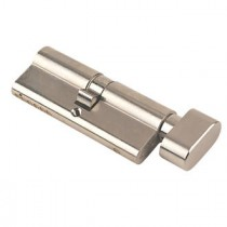 70mm Yale Euro Profile Cylinder Satin Nickel Plated