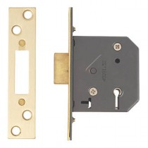 Yale Mortice Deadlock 5 Lever PM552 Brass