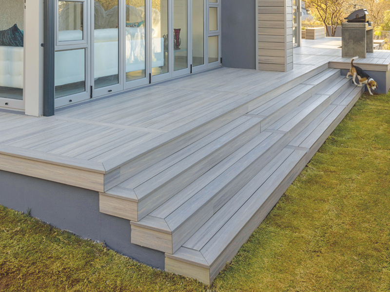 Whiteriver Composite decking