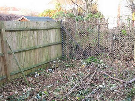 debris garden